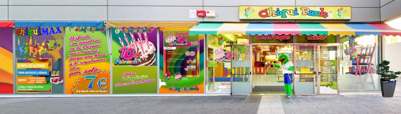 Parque de juegos Chiquipark: Cumpleaños  en Cádiz